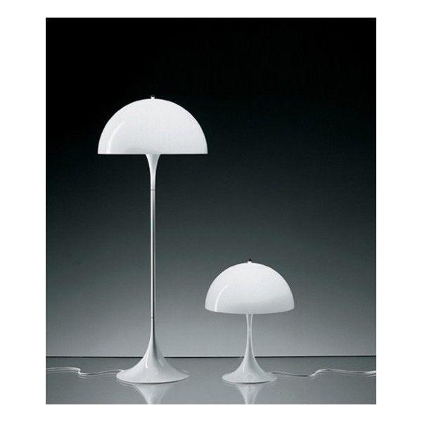 Panthella table & floor lamp Designer: Verner Panton Manufacturer: Louis Poulsen 1971