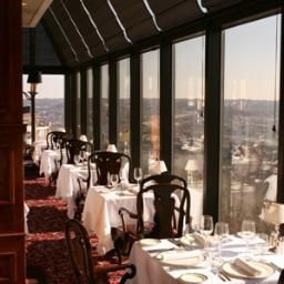 Celestial Restaurant Covington Kentucky - Rotating restaurant next to I-75 bridge on Ky. side of the river from Cincinnati.
