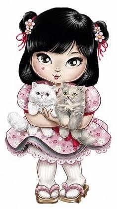 Kitten girl ~ Jolie Tilibra