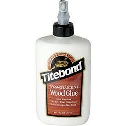 """Varieties of traditional """"yellow"""" glue, as well as polyurethane and other adhesives specifically formulated to bond wood."""