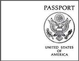 Exceptional image with regard to printable passport template