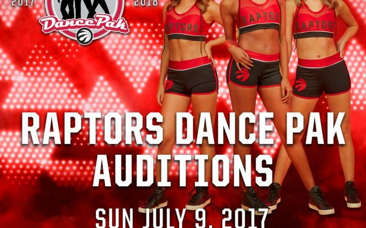 2017/18 Toronto Raptors Dance Pak Auditions | TorontoDance.com