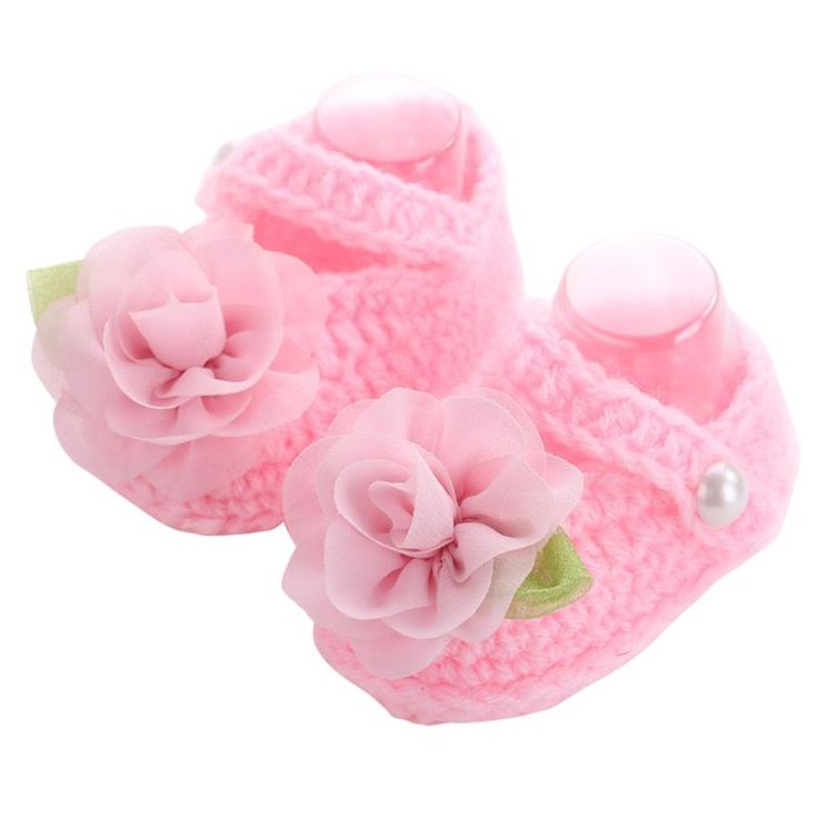Brand Baby Shoes Handmade First Walker ,Baby Knitted Shoes Girls Crochet,Sapatos Infantis Meninas,Flower Baby Slippers Shoe, //Price: $9.95 & FREE Shipping //     #hashtag1