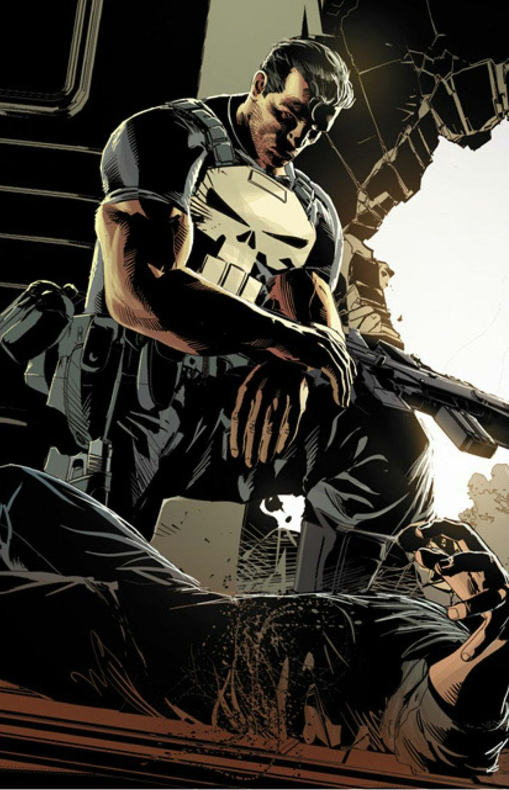 Punisher by Mike Deodato Jr.