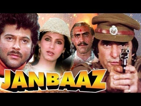Watch Superhit Action Movie Janbaaz (1986)   Starring : Feroz Khan, Anil Kapoor, Dimple Kapadia, Sridevi, Amrish Puri,Shakti Kapoor.