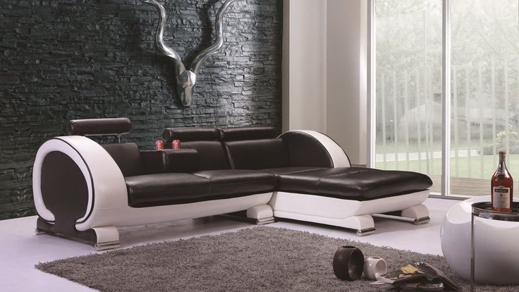 166 best Modern Leather Sofa images on Pinterest Modern leather