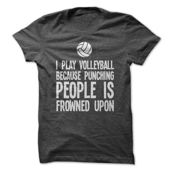 I PLAY VOLLEYBALL #blackfriday Discount Sale > https://www.sunfrog.com/I-PLAY-VOLLEYBALL-61225317-Guys.html?64708