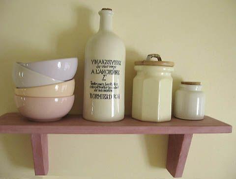 peinture lait etagere