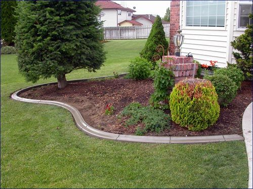 Best 25 landscape borders ideas on pinterest driveway for Garden border design