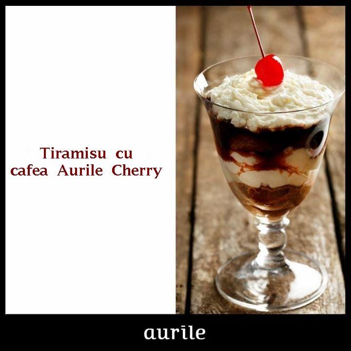 Afacerea FM Group: Tiramisu cu cafea Aurile Cherry