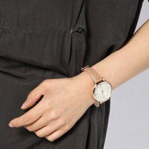 Jam Tangan Original Fossil Jacqueline Three-Hand Leather ES3487
