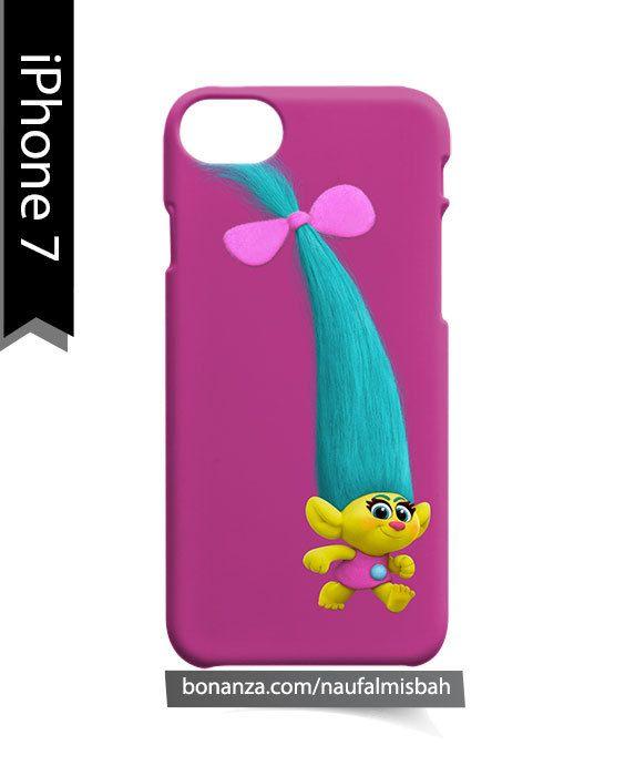 Cute Smidge Trolls Hair iPhone 7 Case Cover Wrap Around
