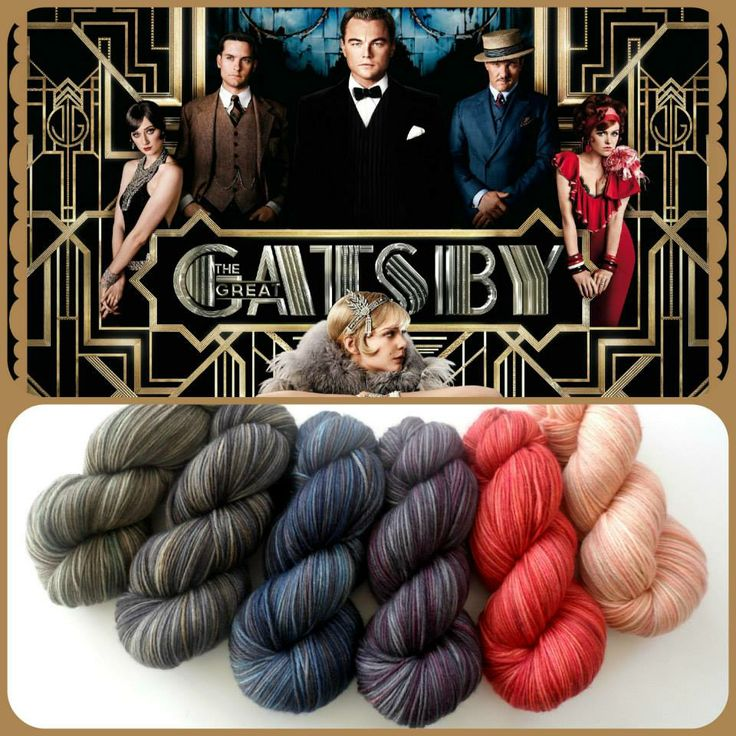The Great Gatsby | Red Riding Hood Yarns