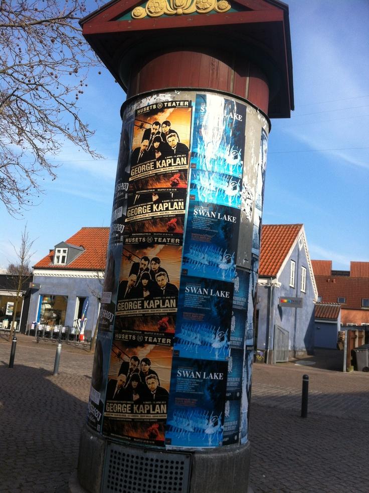 Poster column. Denmark.
