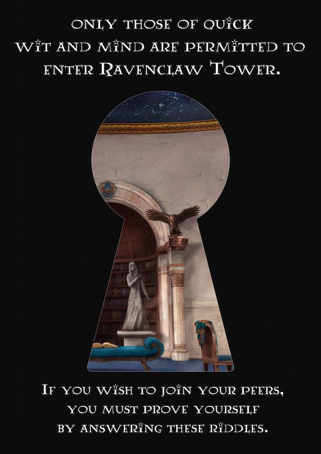 Could You Get Into The Ravenclaw Common Room