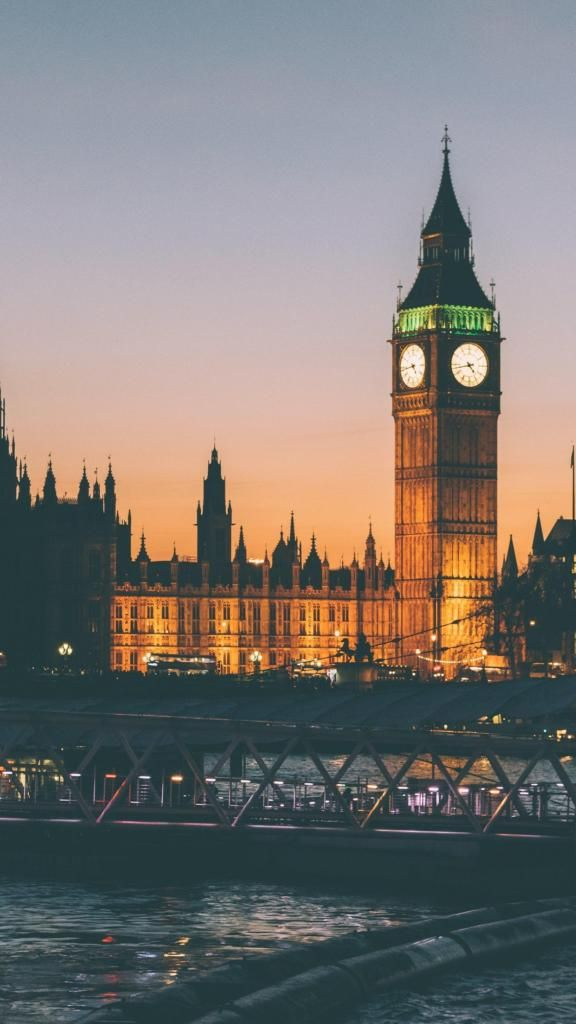 Iphone X 4k Wallpapers London Bridge At Night Lights