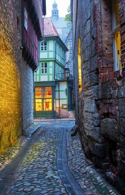 Quedlinburg, Sachsen-Anhalt, Deutschland.