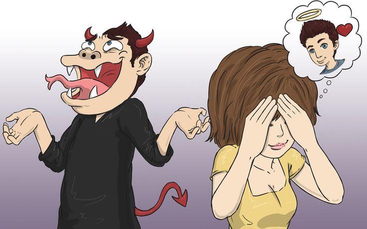 Como reconhecer um relacionamento abusivo (clicar na imagem pra ler texto)