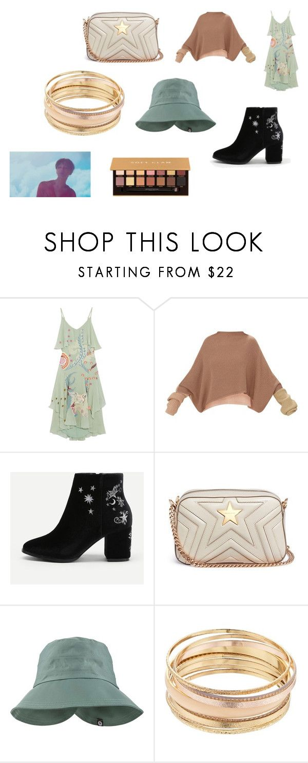 """""""Counting the days to GD military enlistment"""" by nadaanja ❤ liked on Polyvore featuring Temperley London, STELLA McCARTNEY, Marmot, Mudd and Anastasia Beverly Hills"""