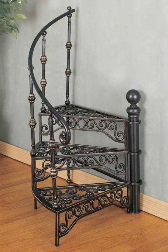 Best Iron Staircase Plant Stand Decoración En Hierro Escalera Madera Y Hierro Muebles De Metal 640 x 480