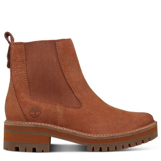 finest selection 9baae 907ca Courmayeur Valley Chelsea-Damenstiefel in Braun | Shoes ...