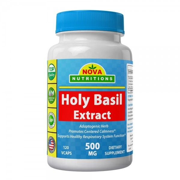 Holy Basil Ocimum tenuiflorum also known as Ocimum sanctum has been shown to possess powerful adaptogenic properties and has been used to enhance the body's ability to respond to stress and minimize the negative effects of stress on the body.*As a powerful adaptogen, it helps maintain normal blood sugar levels when used as part of your diet, as well as promote focused clarity.*  Adaptogenic Herb  Promotes Centered Calmness*  Supports Healthy Respiratory System Function*
