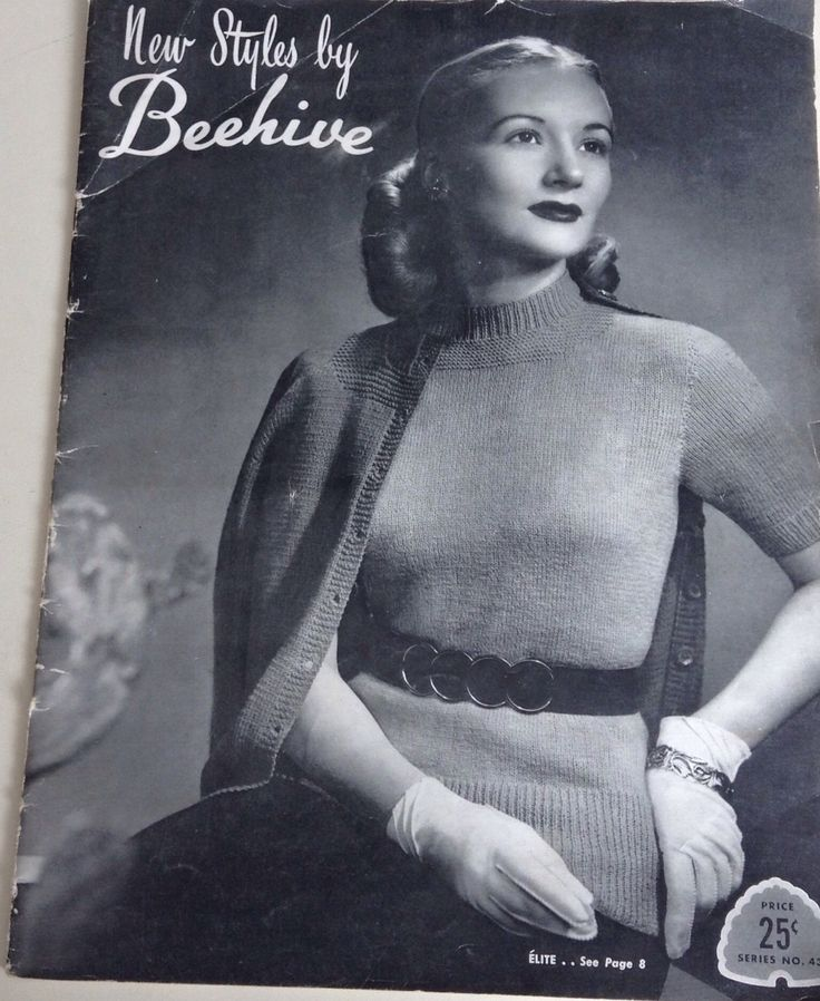 A personal favorite from my Etsy shop https://www.etsy.com/ca/listing/513963549/elegant-vintage-designer-womens-sweaters