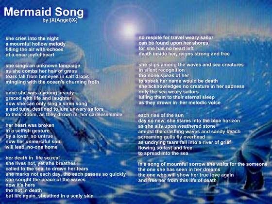 Translations Into Italian: Mermaid Merman Songs Poems Quotes