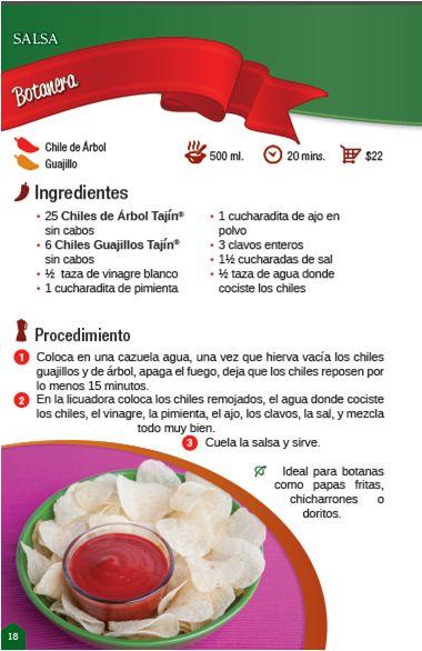 Deliciosa salsa botanera fácil y rápida / Delicious sauce easy and fast to prepare #recipe #tajin #ilovefood
