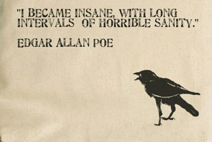 Fun Fact: Edgar Allan Poe married his 13 year old cousin when he was 27. Though this is both illegal and morally wrong, this does not lessen his awesomeness.