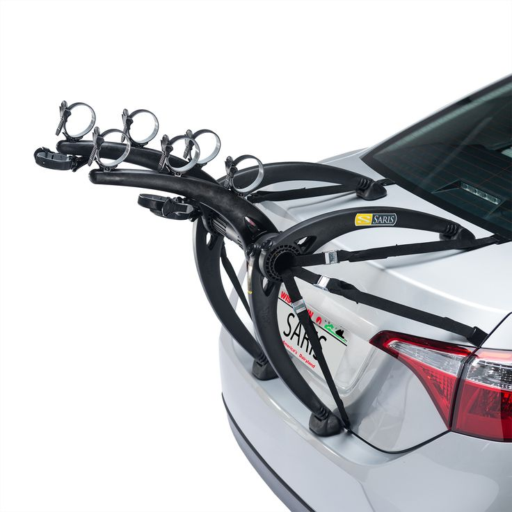 This Saris Bones 3-bike trunk #bike #rack has a unique arc-based design that separates #best