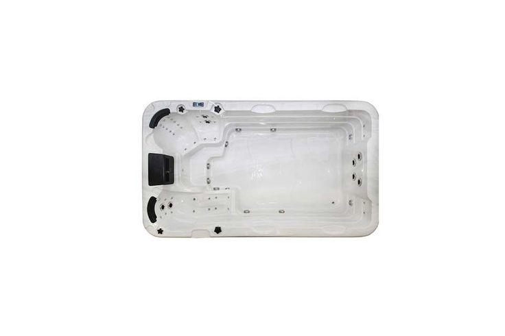 Zwemspa Aquatic 1  De Aquatic 1 is de ideale zwemspa wanneer u voldoende ruimte zoekt. Bij 400 cm lang de Aquatic 1 biedt voldoende zwemruimte en ook zeer comfortabele zitplaatsen voor de rustige ontspanning. Krachtige pompen genereren een sterke stroming waardoor u op een plek kan blijven zwemmen als workout. Alle Passion Swim Spas worden standaard geleverd met interieur en exterieur LED-verlichtingdit geeft stijlvolle verlichtings accenten aan uw spa-ervaring.  EUR 15999.00  Meer…