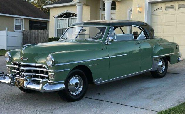 Spotlessly Clean 1950 Chrysler Windsor Newport Chrysler Windsor