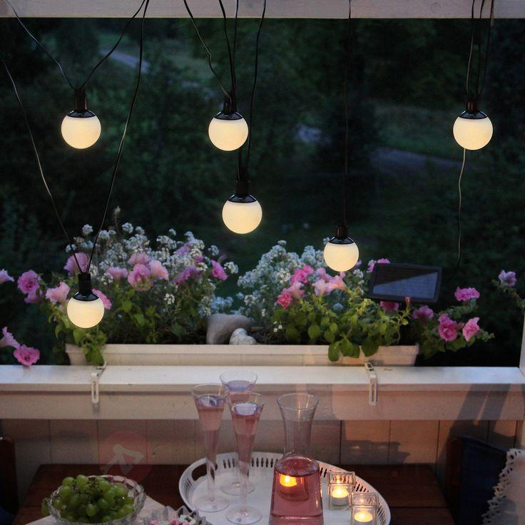Guirlande lumineuse LED solaire Combo à 6 lampes sicher & bequem online bestellen bei Lampenwelt.de.
