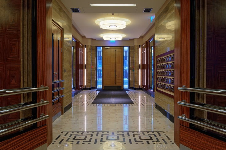 Inside Foksal Residence