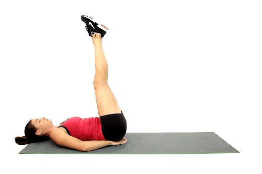 No. 10: Double Leg Lifts // You don't need a gym to get a great workout. These 20 exercises recommended by fitness expert and celebrity trainer Amy Dixon will hit every single muscle in your body and slash fat -- without any equipment.