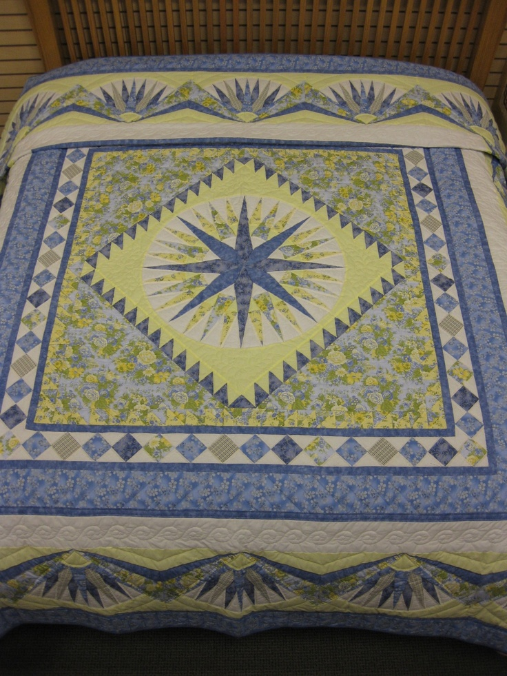 Quilting Patterns Mariner S Compass : 25+ best ideas about Mariners compass on Pinterest Compass free, Paper pieced patterns and ...