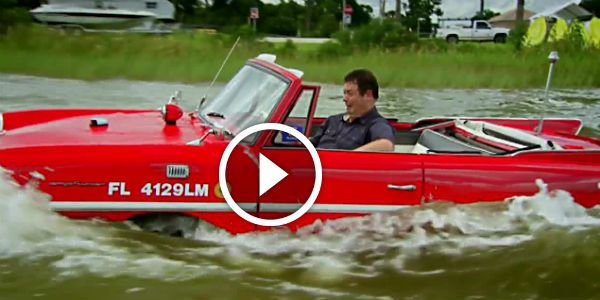 Another Awesome Chapter Of The Wheeler Dealers With THE 1967 Amphicar! Mike JUST LOVES This Epic Amphibious Car!
