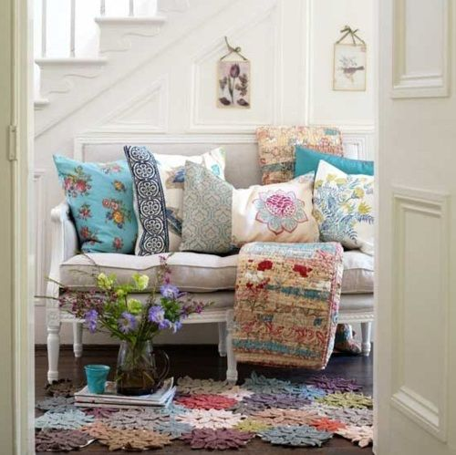 Floral cushions of all varieties!