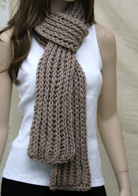 Knit Wool Soft  Scarf  Extra Long Scarf for Men by endlesscreation, $38.00