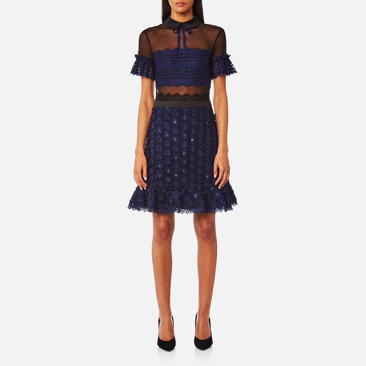 Three Floor Women's Phase Dress - Navy - Free UK Delivery over £50