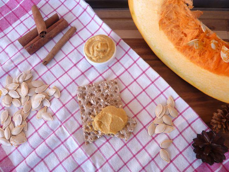 Dyniowy hummus   ciecierzyca   cynamon - Away project