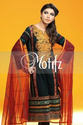 MOTIFZ PRODUCT: MWU00980-BLACK, RETAIL PRICE: 5490, ITEM TYPE: KHADDAR