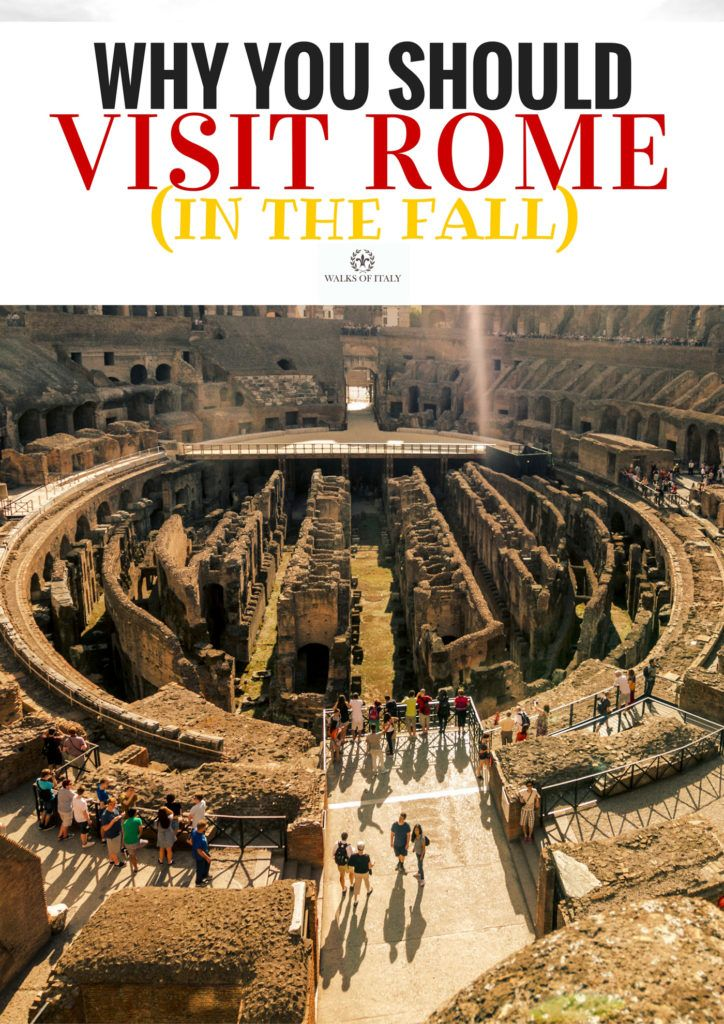 Incredible weather is one great reason to visit Rome in the fall. Find out the others at the Walks of Italy blog.