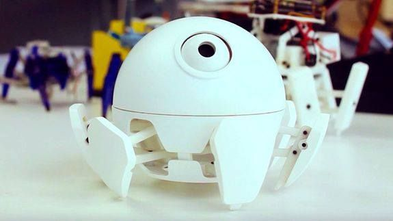 China's Xpider robot is inspired by the magic of Pixar films ->…