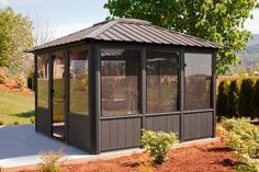 Gazebo Kits, Enclosed Hot Tub Gazebos, PA. Gazebos, The Jasper Gazebos measures 11' by 11'