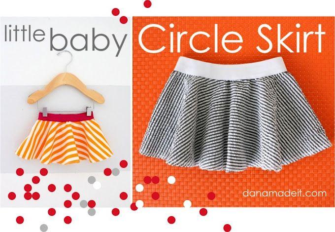 little baby circle skirt