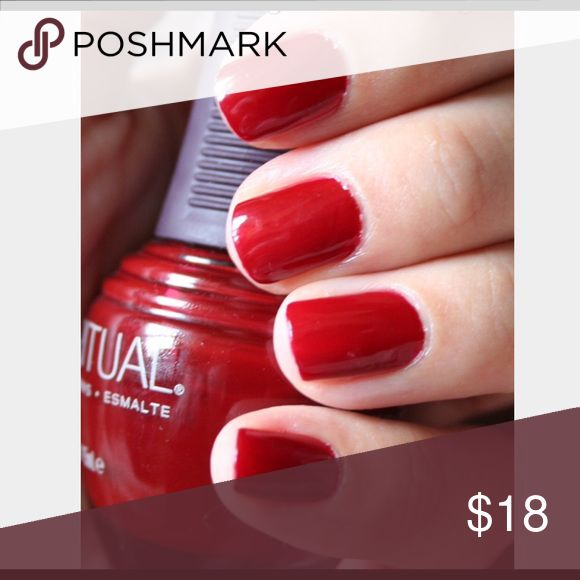 """💅 SpaRitual """"Kiss the Cook"""" Nail Polish Kiss The Cook. RED BROWN CRÈME 80118. Includes manicure set (4th picture). 1 new nail file. *Nail polish and rest of the set used once. SpaRitual Other"""