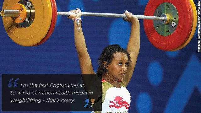 Team GB's weightlifting warrior Zoe Smith tames Twitter trolls - CNN.com
