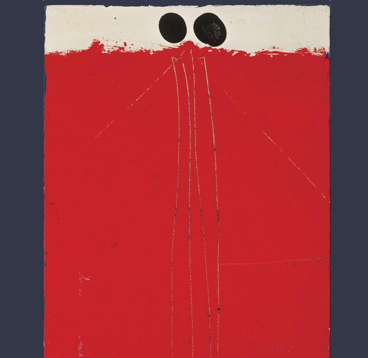 MUAC Vicente Rojo. Escrito / Pintado Artefacto, 1968. Fotografía: Oliver Santana